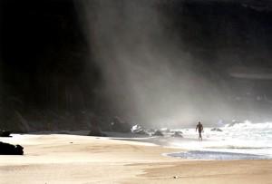 Braving the Storm Spray